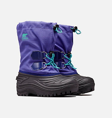 Youth Super Trooper™ Boot YOUTH SUPER TROOPER™ | 551 | 3, Purple Arrow, Reef, 3/4 front