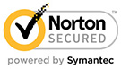 Norton Secured powered by Symantec logo