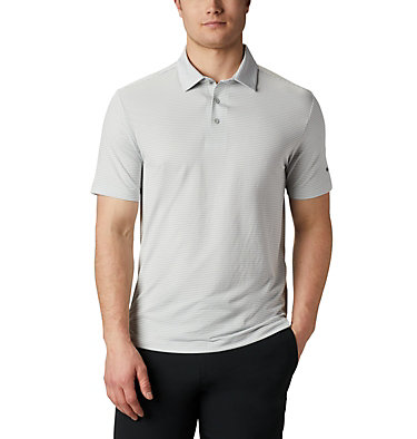 Men's Omni-Wick™ One Swing Polo Men's Omni-Wick Breaker Golf P | 437 | S, Cool Grey, front