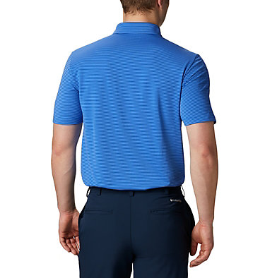 Men's Omni-Wick™ One Swing Polo Men's Omni-Wick Breaker Golf P | 437 | S, Azul, back