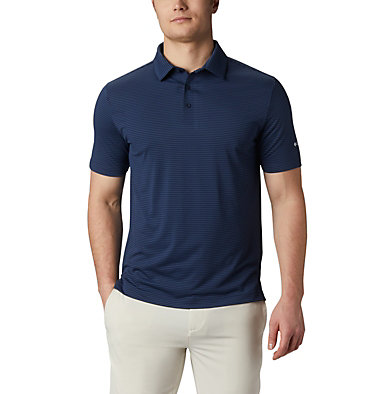 Men's Omni-Wick™ One Swing Polo Men's Omni-Wick Breaker Golf P | 437 | S, Navy, front