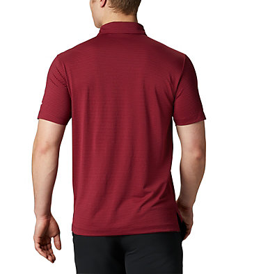 Men's Omni-Wick™ One Swing Polo Men's Omni-Wick Breaker Golf P | 437 | S, Garnet, back