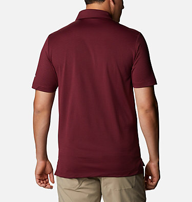 Men's Omni-Wick™ One Swing Polo Men's Omni-Wick Breaker Golf P | 437 | S, Deep Maroon, back