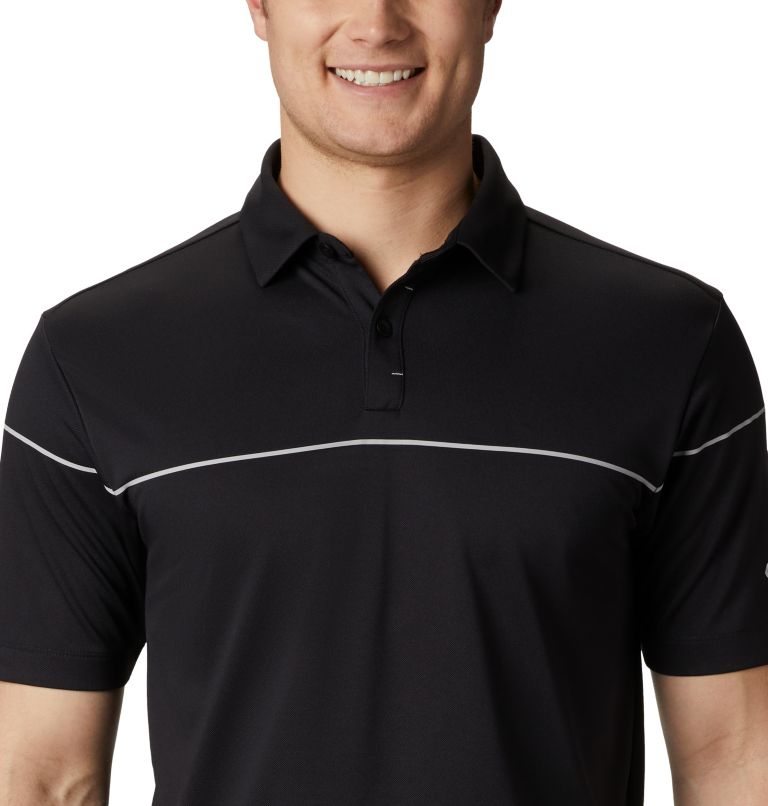 Men's Omni-Wick Breaker Golf P | 010 | S Men's Omni-Wick™ Breaker Golf Polo, Black, a2