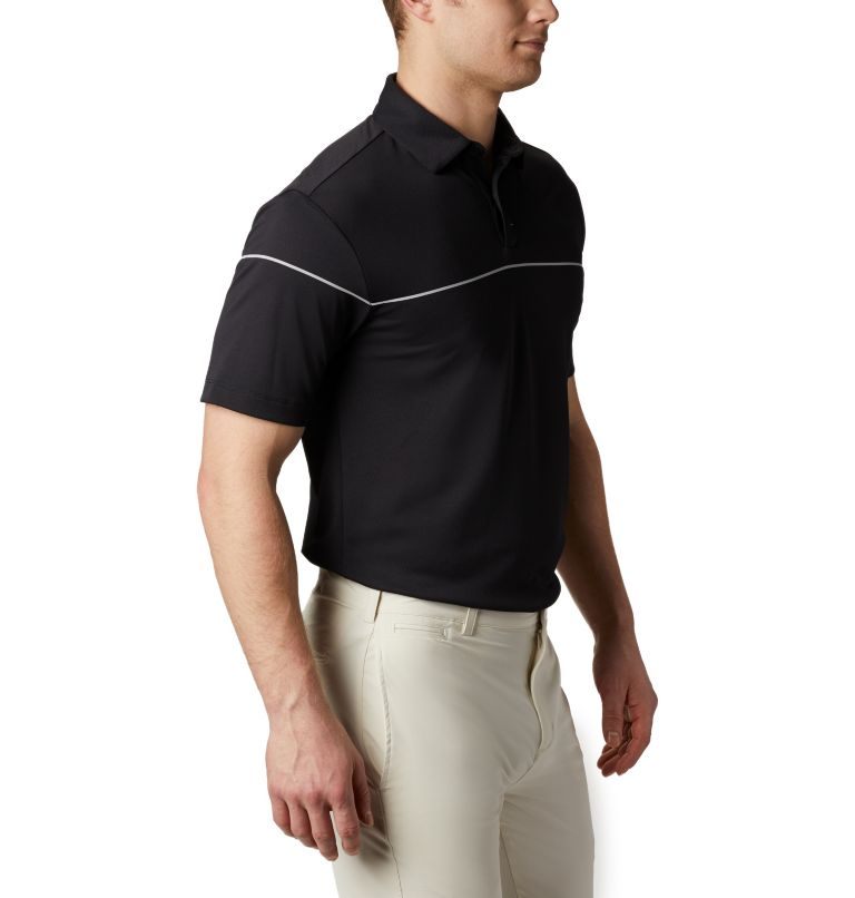 Men's Omni-Wick Breaker Golf P | 010 | S Men's Omni-Wick™ Breaker Golf Polo, Black, a3