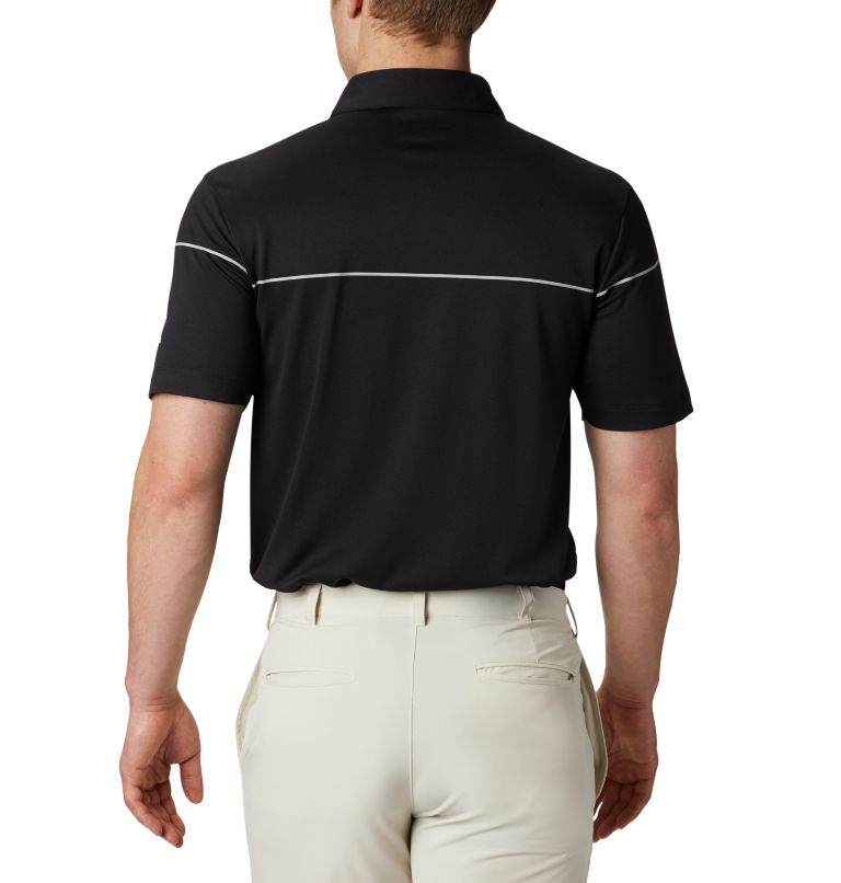 Men's Omni-Wick Breaker Golf P | 010 | S Men's Omni-Wick™ Breaker Golf Polo, Black, back