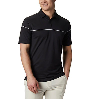 Men's Omni-Wick™ Breaker Golf Polo Men's Omni-Wick Breaker Golf P | 437 | S, Black, front