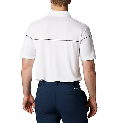 Men's Omni-Wick™ Breaker Golf Polo Men's Omni-Wick Breaker Golf P | 437 | S, White, back