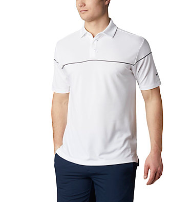 Men's Omni-Wick™ Breaker Golf Polo Men's Omni-Wick Breaker Golf P | 437 | S, White, front