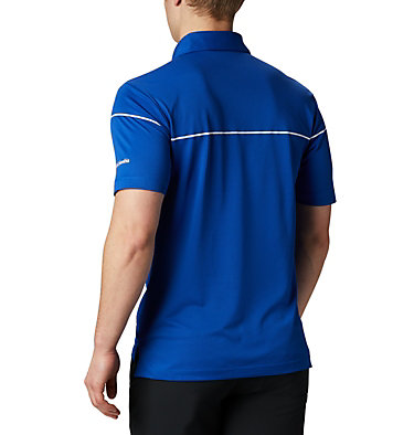 Men's Omni-Wick™ Breaker Golf Polo Men's Omni-Wick Breaker Golf P | 437 | S, Azul, back
