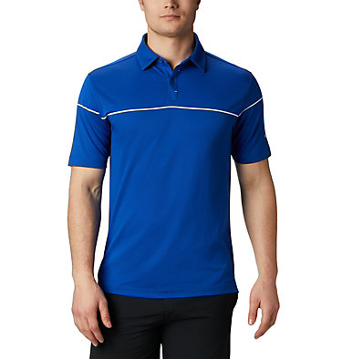 Men's Omni-Wick™ Breaker Golf Polo Men's Omni-Wick Breaker Golf P | 437 | S, Azul, front