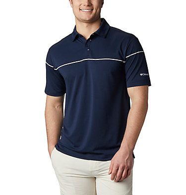 Men's Omni-Wick™ Breaker Golf Polo Men's Omni-Wick Breaker Golf P | 437 | S, Collegiate Navy, front