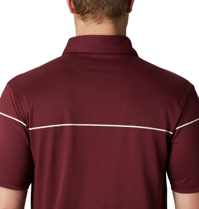 Men's Omni-Wick Breaker Golf P | 699 | XL Men's Omni-Wick™ Breaker Golf Polo, Deep Maroon, a2