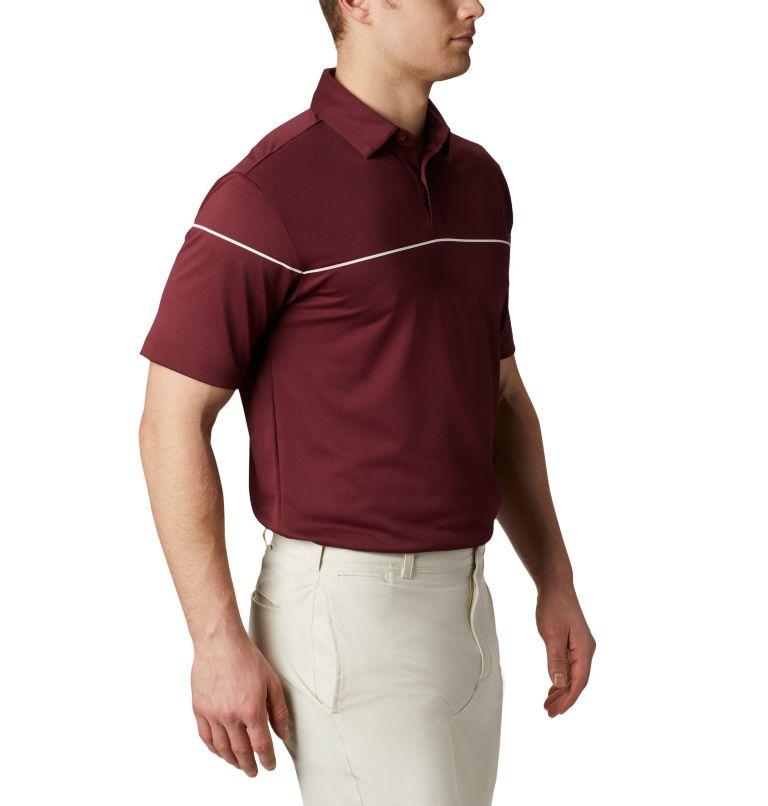 Men's Omni-Wick Breaker Golf P | 699 | XL Men's Omni-Wick™ Breaker Golf Polo, Deep Maroon, a3