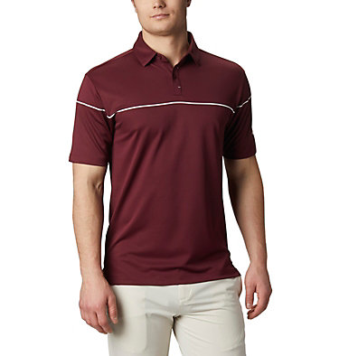 Men's Omni-Wick™ Breaker Golf Polo Men's Omni-Wick Breaker Golf P | 437 | S, Deep Maroon, front