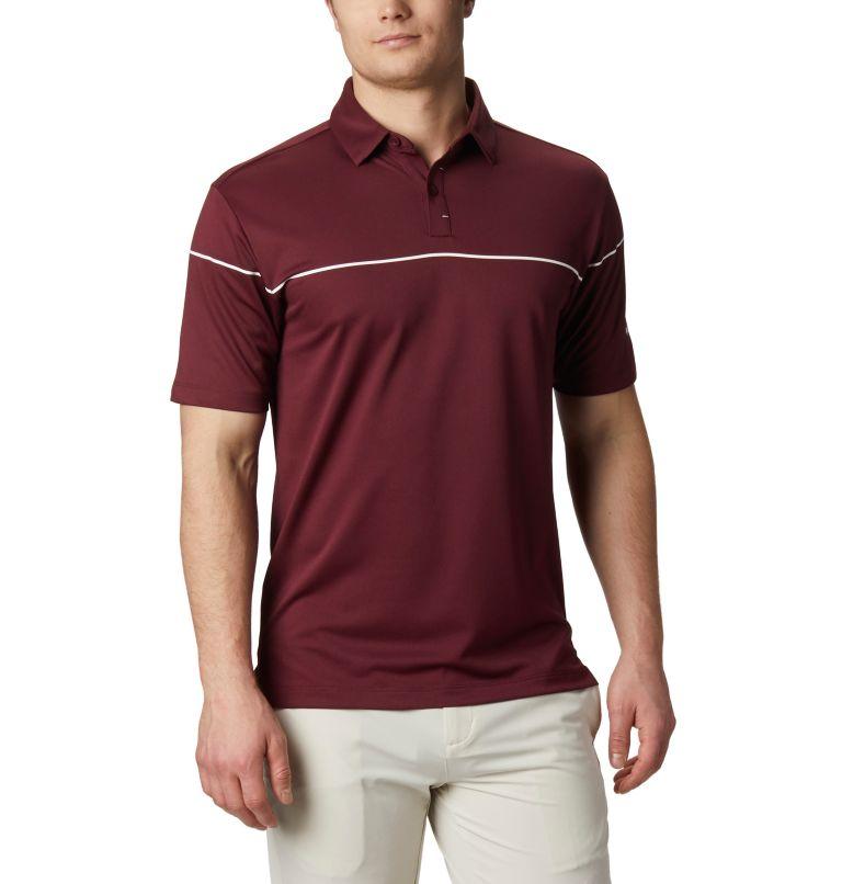 Men's Omni-Wick Breaker Golf P | 699 | XL Men's Omni-Wick™ Breaker Golf Polo, Deep Maroon, front