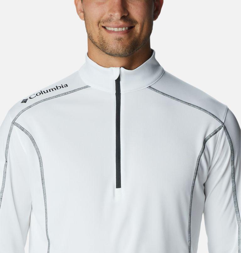 Shotgun Golf 1/4 Zip | 100 | XXL Men's Omni-Wick™ Shotgun Quarter-Zip Pullover, White, a2