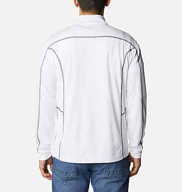 Men's Omni-Wick™ Shotgun Quarter-Zip Pullover Shotgun Golf 1/4 Zip | 895 | M, White, back
