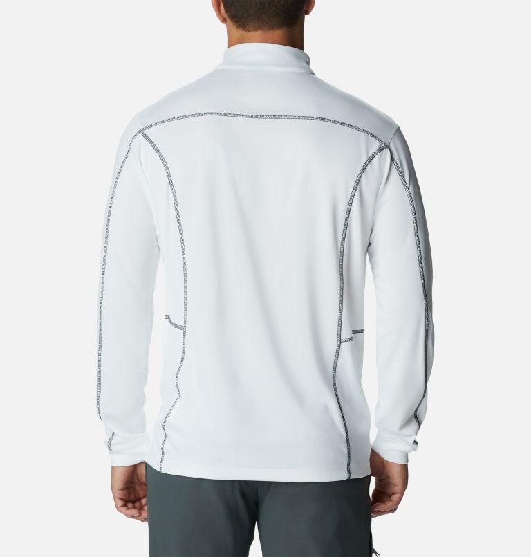 Shotgun Golf 1/4 Zip | 100 | XXL Men's Omni-Wick™ Shotgun Quarter-Zip Pullover, White, back