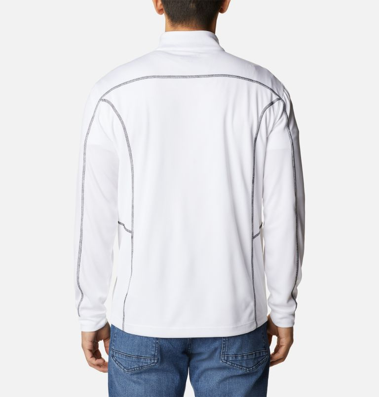 Men's Omni-Wick™ Shotgun Quarter-Zip Pullover Men's Omni-Wick™ Shotgun Quarter-Zip Pullover, back