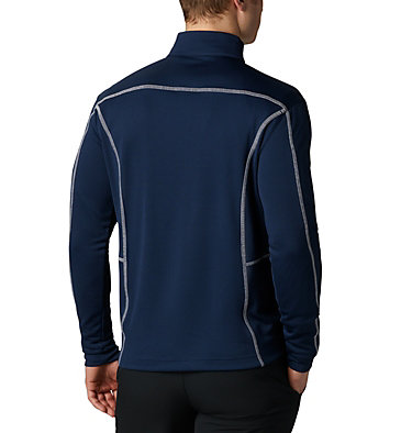 Men's Omni-Wick™ Shotgun Quarter-Zip Pullover Shotgun Golf 1/4 Zip | 895 | M, Collegiate Navy, back