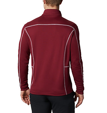 Men's Omni-Wick™ Shotgun Quarter-Zip Pullover Shotgun Golf 1/4 Zip | 895 | M, Garnet, back