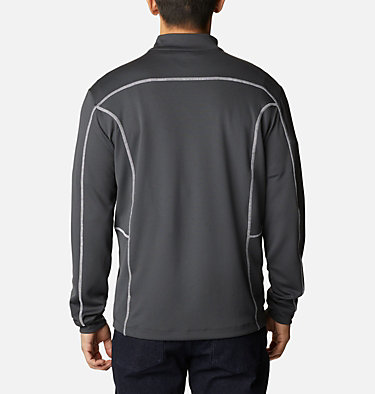 Men's Omni-Wick™ Shotgun Quarter-Zip Pullover Shotgun Golf 1/4 Zip | 895 | M, Forged Iron, back
