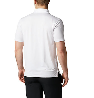 Men's Omni-Wick™ Sunday Polo Men's Omni-Wick Breaker Golf P | 733 | S, White, back