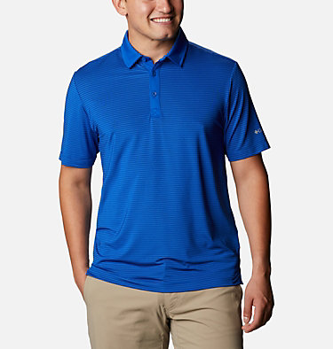 Men's Omni-Wick™ Sunday Polo Men's Omni-Wick Breaker Golf P | 733 | S, Azul, front