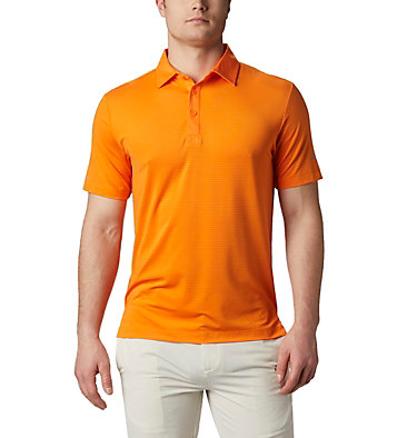 Men's Omni-Wick™ Sunday Polo Men's Omni-Wick Breaker Golf P | 733 | S, Gold, front