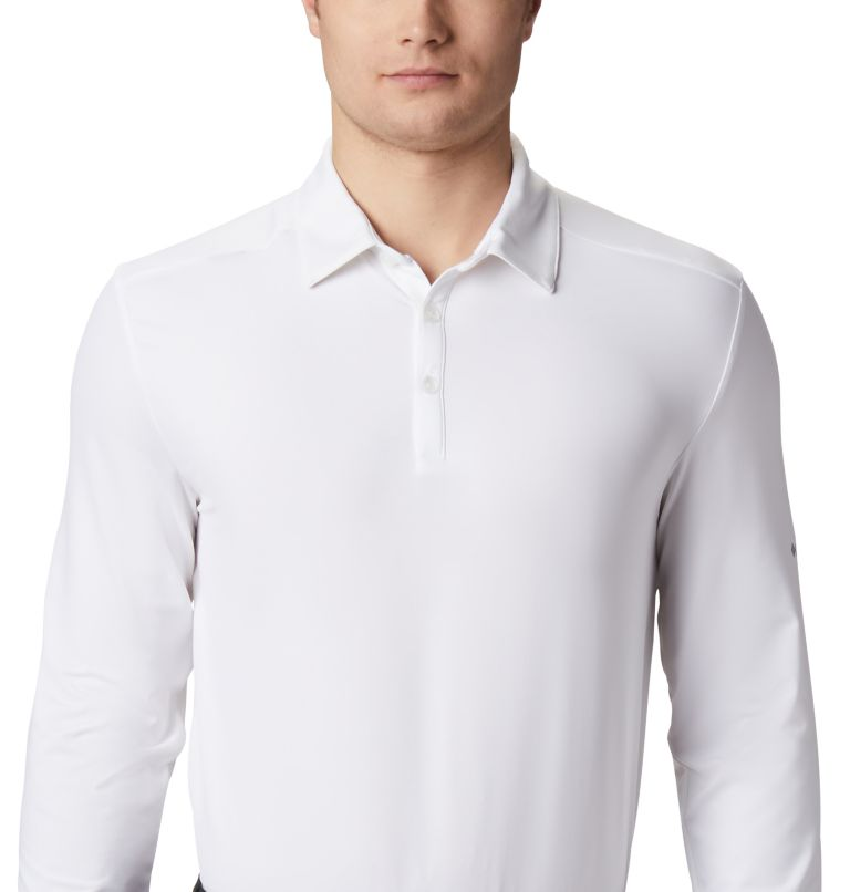 Men's Omni-Wick Pin High  LS Polo Men's Omni-Wick Pin High  LS Polo, a2