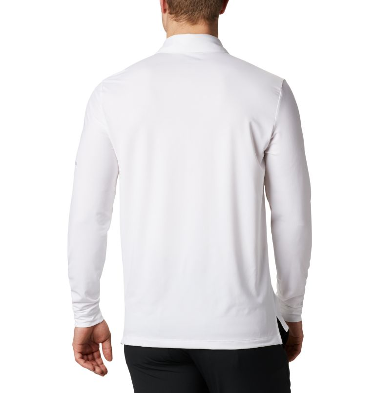 Men's Omni-Wick Pin High  LS Polo Men's Omni-Wick Pin High  LS Polo, back