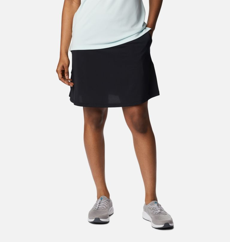 Women's Golf Omni-Wick Qualife | 010 | L Women's Golf Omni-Wick™ Qualifier Skort, Black, front