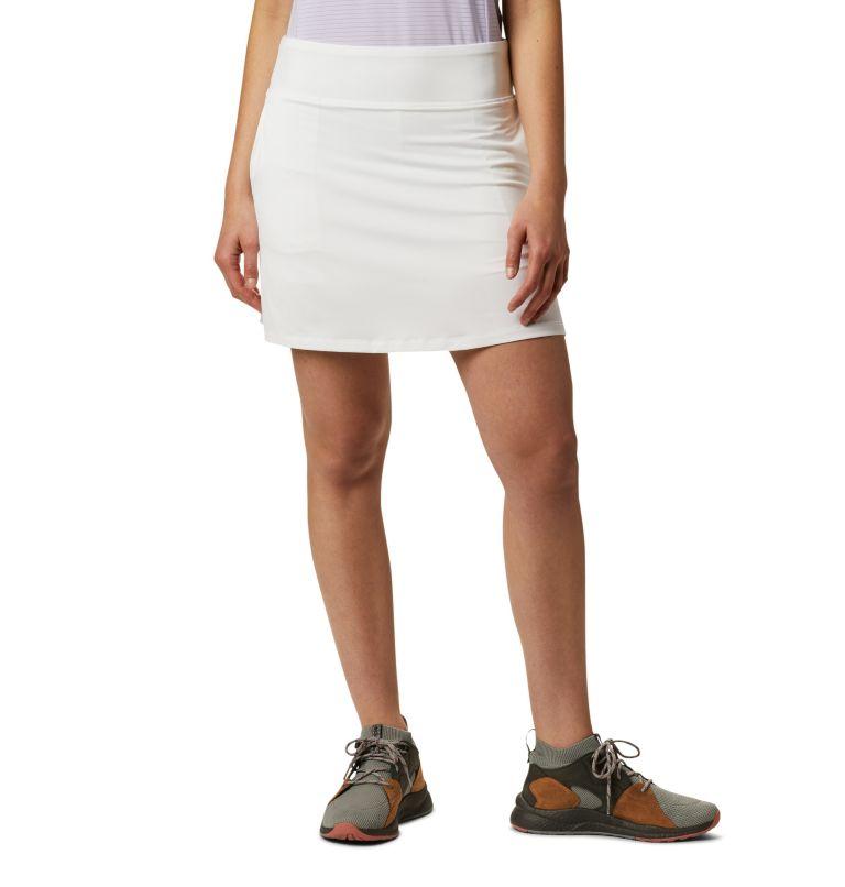 Women's Golf Omni-Wick Qualife   100   M Women's Golf Omni-Wick™ Qualifier Skort, White, front