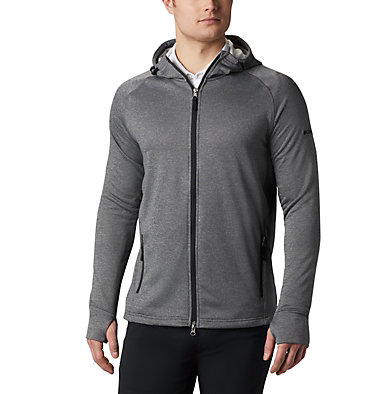 Men's Omni-Wick™ Ace Jacket Men's Omni-Wick Ace Full Zip | 425 | M, Heather Forged Iron, front