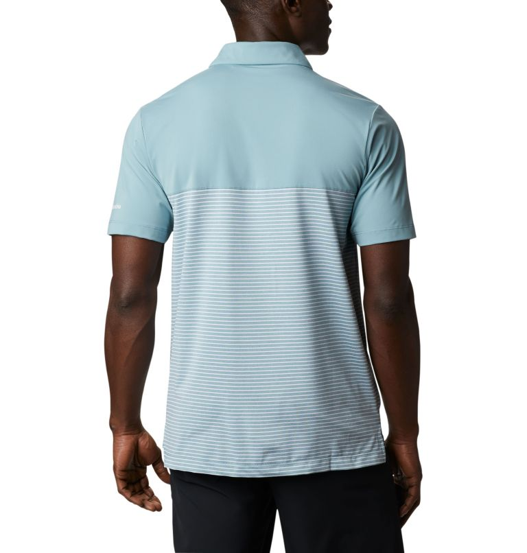 Men's Omni-Wick Stacked Polo Men's Omni-Wick Stacked Polo, back