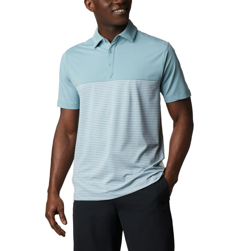 Men's Omni-Wick Stacked Polo Men's Omni-Wick Stacked Polo, front