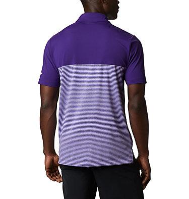 Men's Omni-Wick Stacked Polo Men's Omni-Wick Stacked Polo | 019 | S, Purple, back
