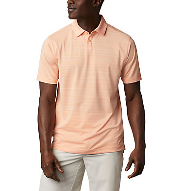 Men's Omni-Wick Chipper Polo Men's Omni-Wick Chipper Polo | 010 | S, Peach, front