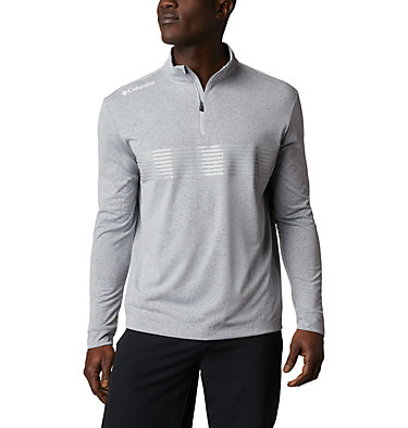 Men's Omni-Wick Dynamic Pullover Men's Omni-Wick Dynamic Pullover | 010 | S, Cool Grey, front