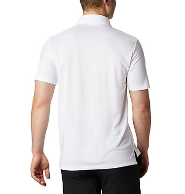 Men's Omni-Wick™ Drive Polo Men's Golf Omni-Wick Breaker P | 527 | S, White, back