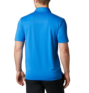 Men's Omni-Wick™ Drive Polo Men's Golf Omni-Wick Breaker P | 527 | S, Sapphire, back