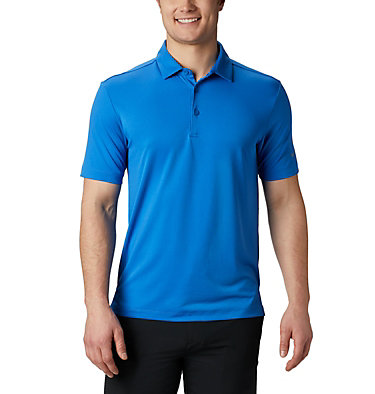 Men's Omni-Wick™ Drive Polo Men's Golf Omni-Wick Breaker P | 527 | S, Sapphire, front