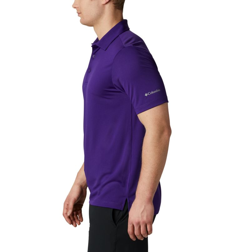 Men's Golf Omni-Wick Breaker P | 527 | XXL Men's Omni-Wick™ Drive Polo, Purple, a1