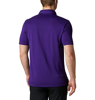 Men's Omni-Wick™ Drive Polo Men's Golf Omni-Wick Breaker P | 527 | S, Purple, back
