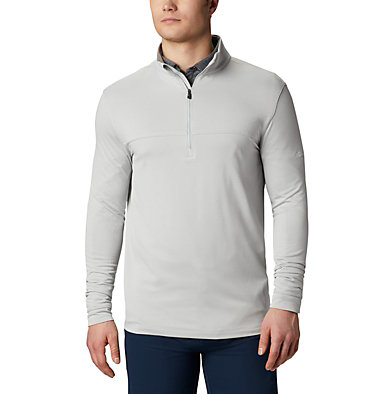 Men's Omni-Wick™ Soar Pullover Men's Omni-Wick Soar Pullover | 437 | S, Cool Grey, front