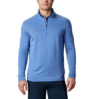 Men's Omni-Wick™ Soar Pullover Men's Omni-Wick Soar Pullover | 437 | S, Azul, front