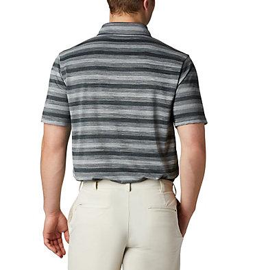 Men's Omni-Wick™ Chatter Polo Men's Omni-Wick Men's Chatter Polo | 010 | S, Black, back