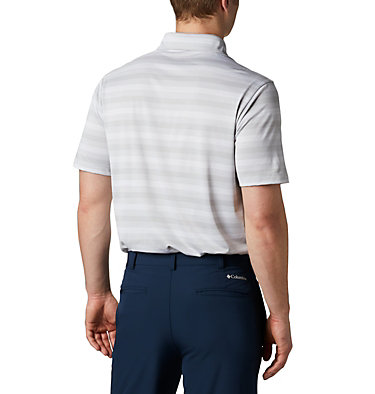 Men's Omni-Wick™ Chatter Polo Men's Omni-Wick Men's Chatter Polo | 010 | S, Cool Grey, back