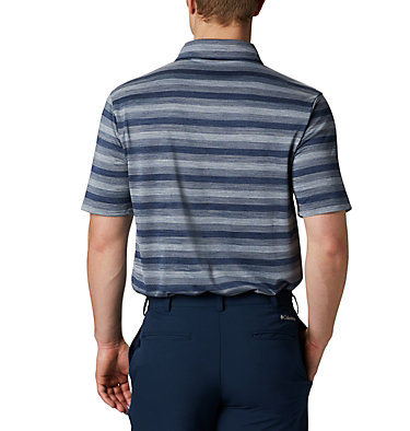 Men's Omni-Wick™ Chatter Polo Men's Omni-Wick Men's Chatter Polo | 010 | S, Navy, back